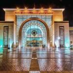 Das neue Marrakesch, hier der Hauptbahnhof das große Eingangsportal