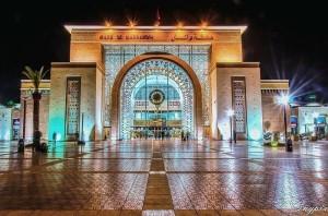 Das neue Marrakesch, hier der Hauptbahnhof