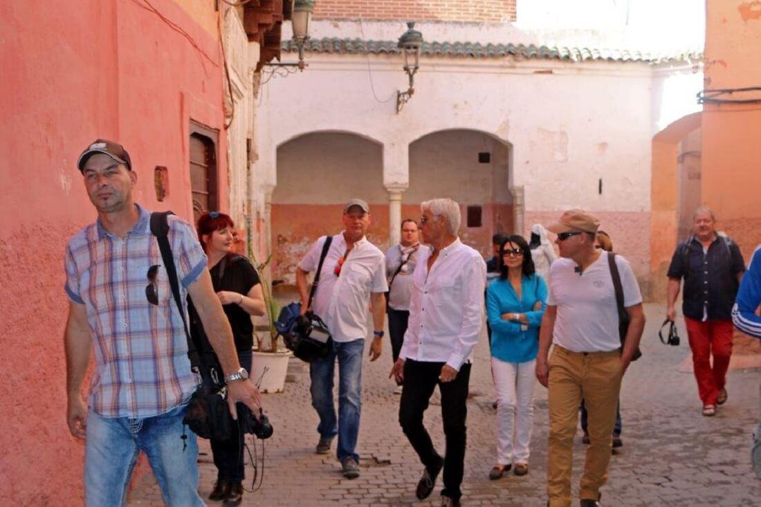 Stadtrundgang mit Herbert vom Riad La Maison Nomade und dem MDR