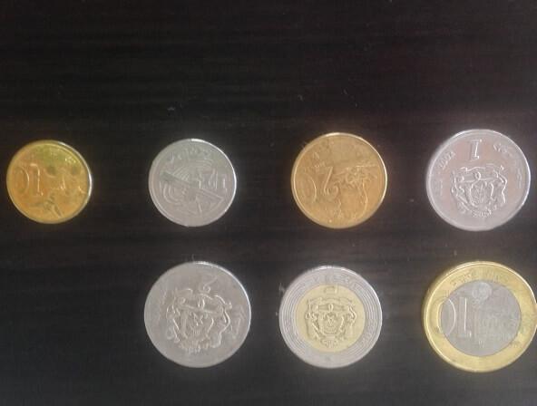 Marokkanischer Dirham-Münzen