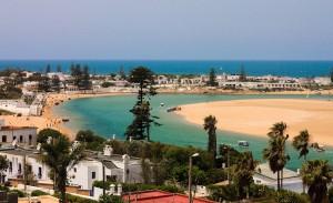Oualidia am Atlantik zwischen El Jadida und Safi