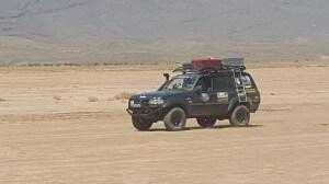 Pistenfahrt mit dem Hotel La Maison Nomade durch die Wüste