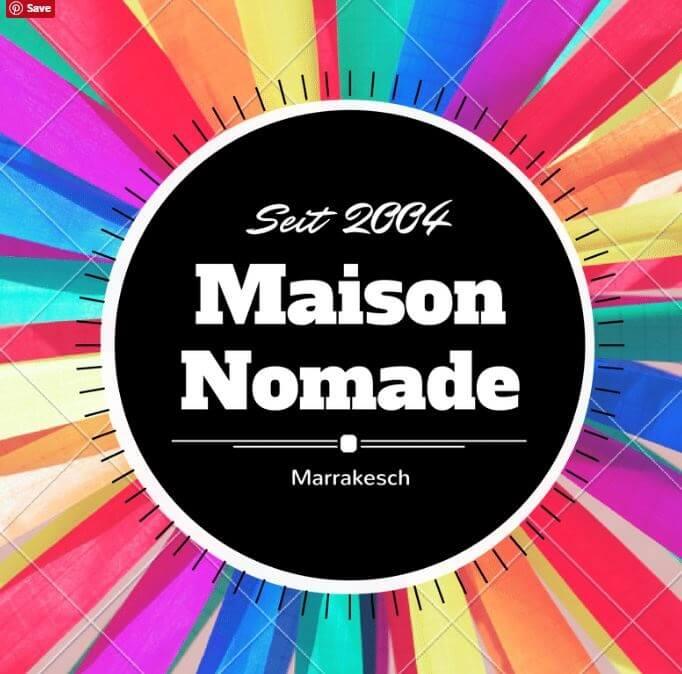 Seit 2004 - der Riad La Maison Nomade in Marrakesch
