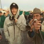 Özil bei seinem Urlaub Marrakesch auf dem Platz Djema el Fna