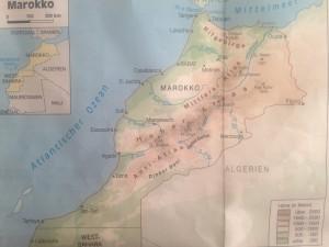 landkarte-fuer-reisefuehrer, für Rundreisen mit dem Hotel La Maison Nomade