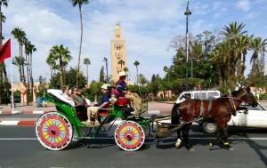 Geheimtipp Marrakesch-Kutschfahrt mit dem Hotel La Maison Nomade