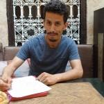 Rachid Ait Karroum im Riad La Maison Nomade