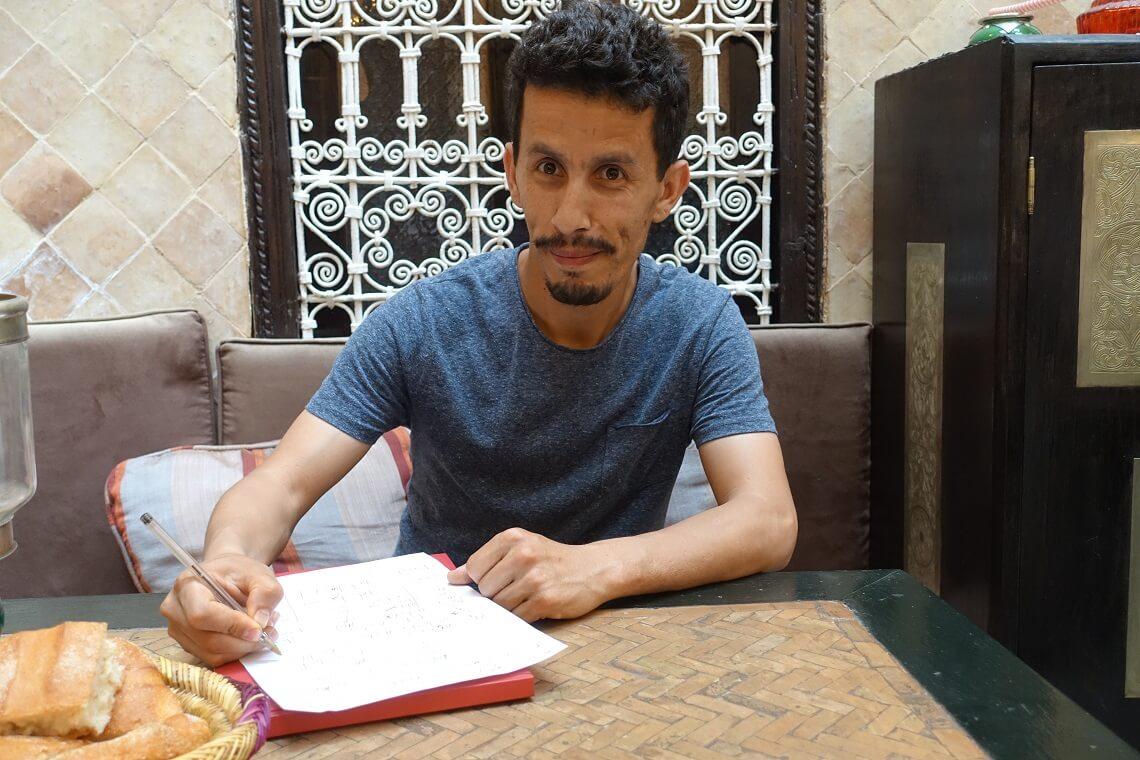 Marokkanisch lernen mit Rachid