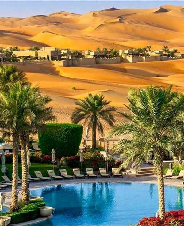Marokkanisches Wüstendorf
