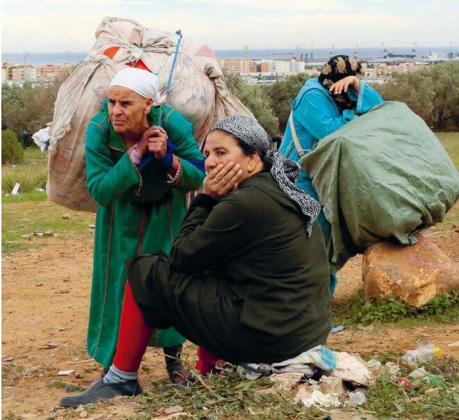Die Last der Frauen - Grenzgängerinnen zwischen Melilla und Marokko