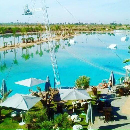 Mit dem Riad La Maison Nomade zum Kabelpark Marrakesch