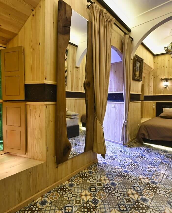 Zimmer Al Azraq Riad La Maison Nomade