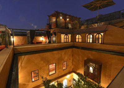 Dachterrasse Riad Marrakesch