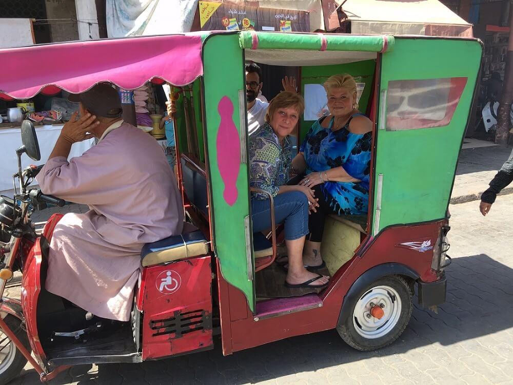 Städtereise Marrakesch mit dem Tuc-Tuc