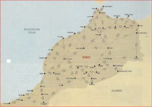 Routenplaner für Marokko Reisen