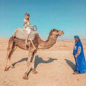 Tagesausflug Wüstencamp mit Dromedar-Ritt