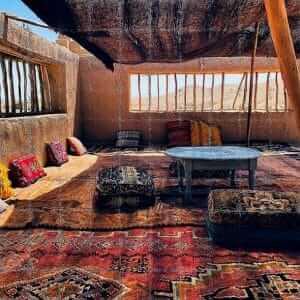 Tagesausflug Wüstencamp mit Pause im Berberzelt