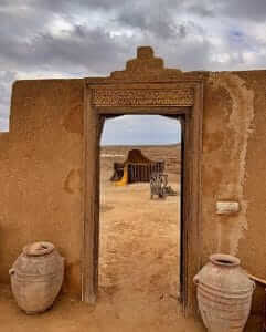 Eingang-Wüstencamp