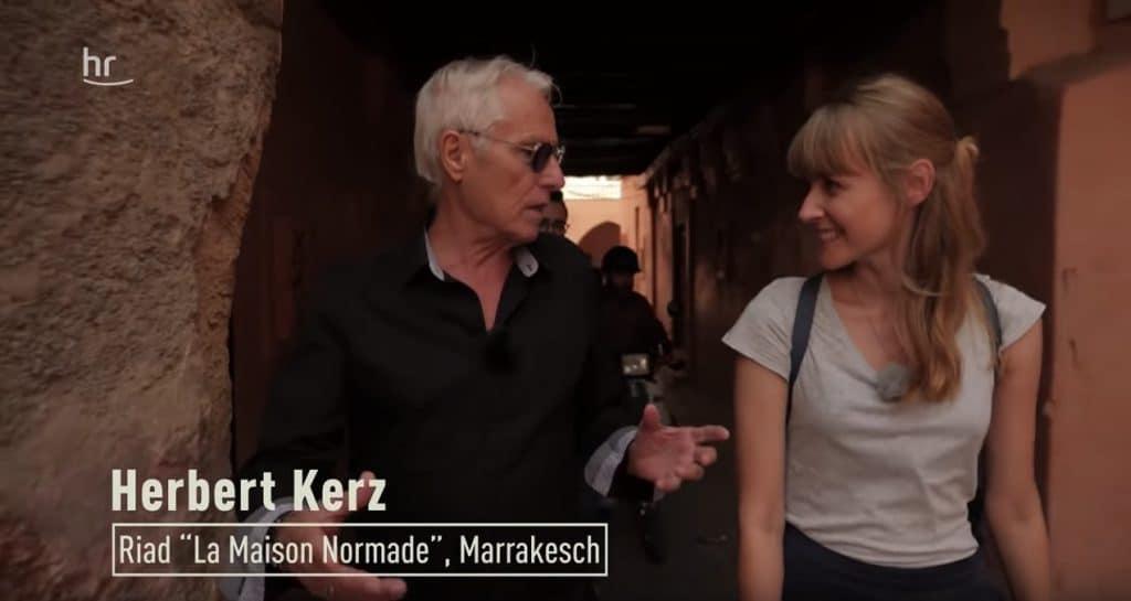 Herbert-Kerz-Marrakesch-Beitrag
